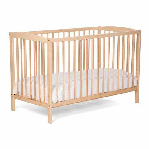 ★衛立兒生活館★比利時Childhome BE10NA嬰兒床/原木色+天然椰子床墊贈100%純棉床包
