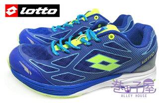【巷子屋】義大利第一品牌-LOTTO樂得 VCLOCI 男款雙密度避震運動慢跑鞋 [2676] 藍 超值價$690