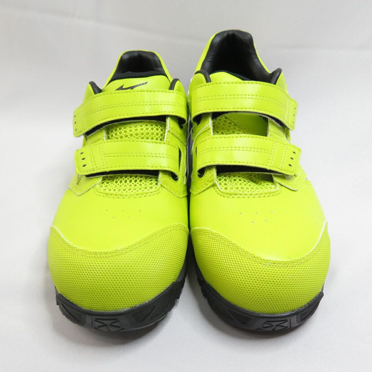 【滿額領券折$150】Mizuno LS 防護鞋 男款 工作安全鞋 F1GA200945 螢光黃【iSport愛運動】