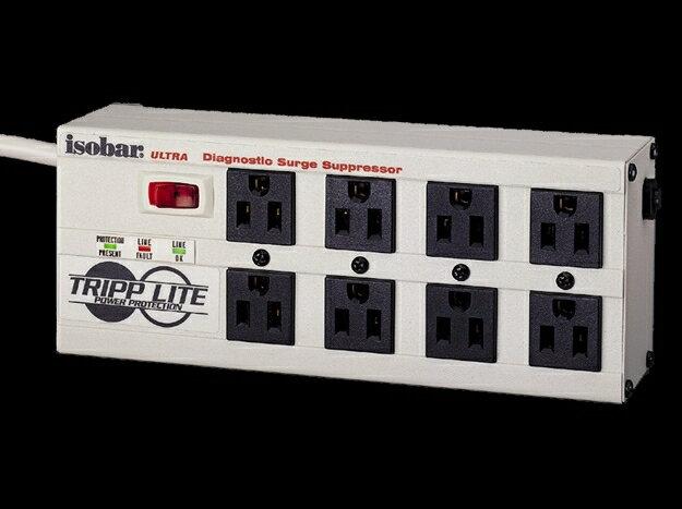 {音悅音響}Tripp Lite Isobar 8 Ultra Surge Suppressor 濾波 穩壓電源排插 防突波
