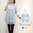 氣質襯衫--浪漫氣質蕾絲雪紡紗襯衫鏤空肩袖兩件式上衣(黑.粉.藍L-3L)-H185眼圈熊中大尺碼 1