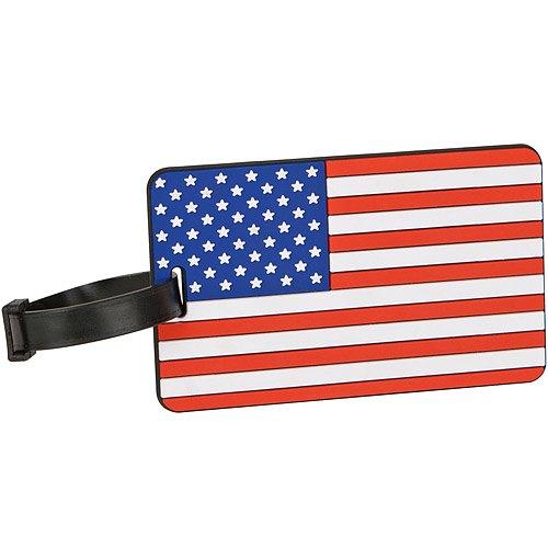《TRAVELON》國旗行李掛牌(美國)