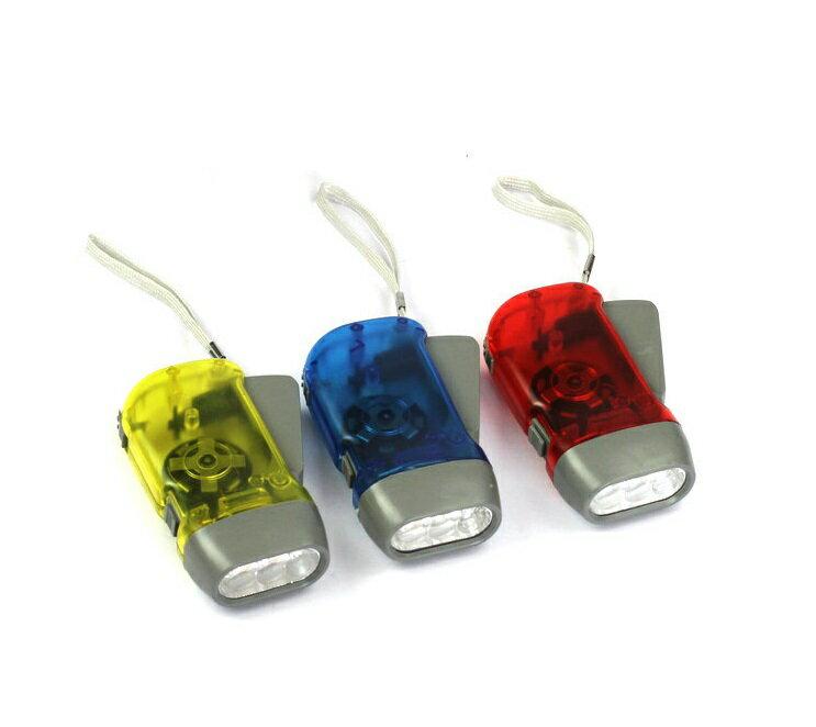 【露營趣】中和 TNR-164 按壓手電筒 手壓收電筒 LED手電筒 手搖手電筒 環保手電筒 緊急手電筒 緊急照明