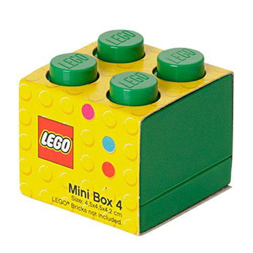 【 樂高積木 LEGO 】迷你方塊四 ( 翠綠 )