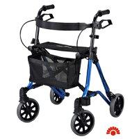 銀髮族保健用品推薦到【銀元氣屋】銀髮族  TAiMA 2助步車-M 銀藍就在銀元氣屋推薦銀髮族保健用品
