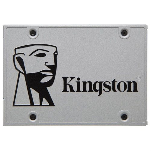 "Kingston SSD UV400 Series 480GB SSDNow 2.5"" SATA III 6Gb/s 7mm TLC Internal Solid State Drive SUV400S37/480G 0"