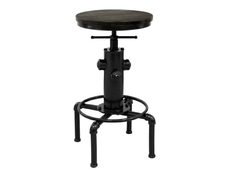 !新生活家具!《羅伯特》工業風 旋轉 升降 吧檯椅 鐵椅 復古 商業空間 美式 機械風