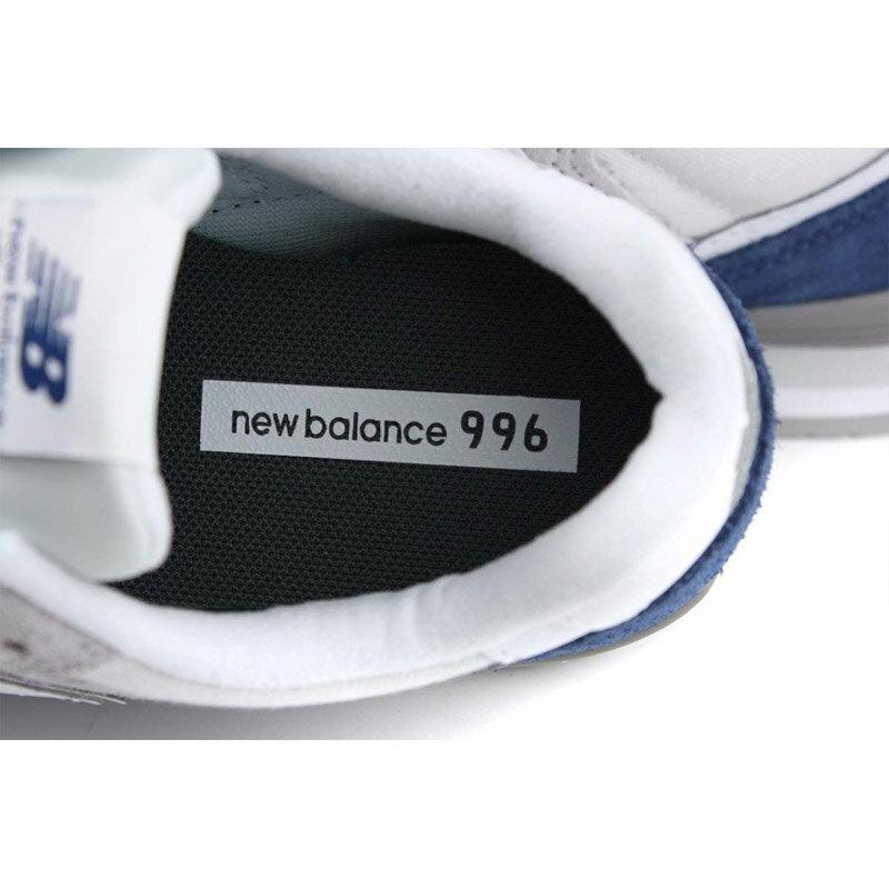 NEW BALANCE 996系列 運動鞋 復古鞋 灰 / 白 女鞋 窄楦 WL996BB-B no643 5