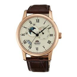 Orient 東方錶65週年羅馬數字日月相機械腕錶/白面42.5mm