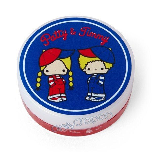 18100800012 日本製保濕香氛護手霜-PJ紅藍ADL 三麗鷗 帕蒂 吉米 日本製 保濕 護手霜 真愛日本