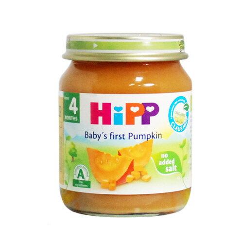 ★衛立兒生活館★HiPP喜寶 有 機南瓜泥125g