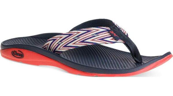 Chaco夾腳拖鞋海灘拖戶外運動涼鞋-沙灘款女美國佳扣CH-ETW01HC65印加紅