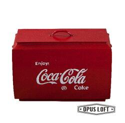 LOFT工業風★仿舊手繪★可口可樂造型置物箱