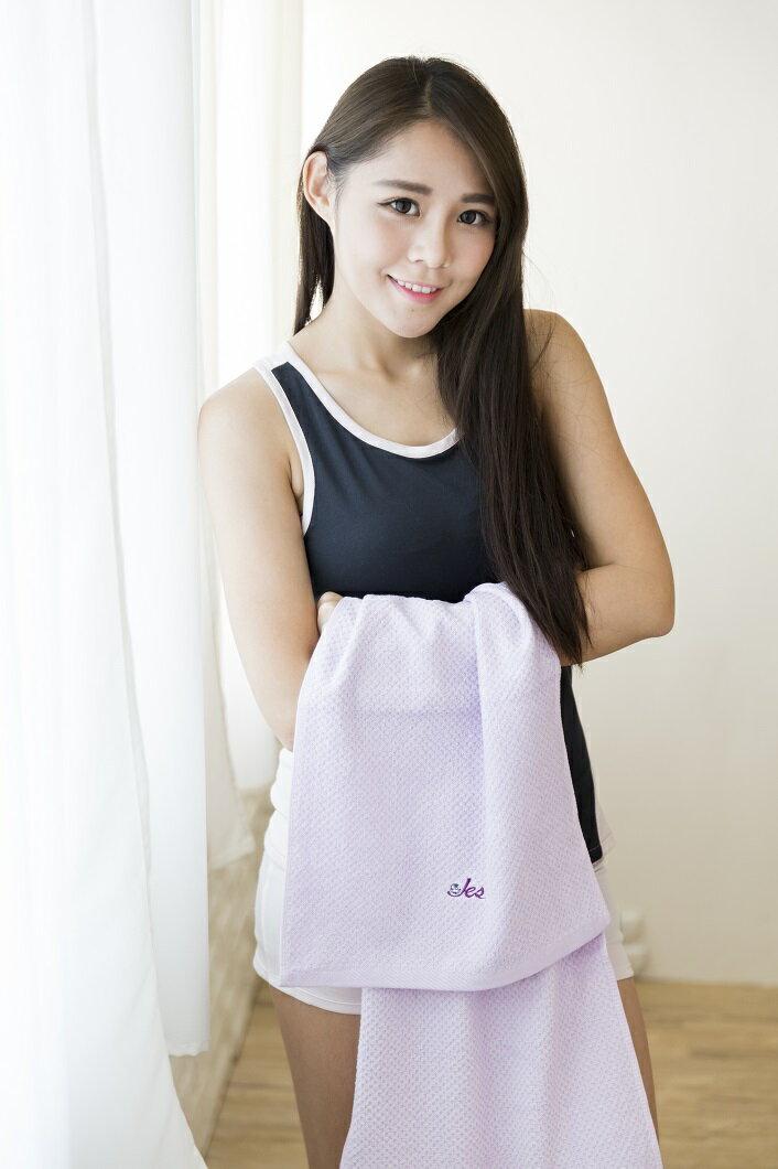 傑適達Jesda 甲殼素抗菌浴巾 抗菌纖維防臭抗霉 吸濕柔軟(133cm x 69公分) 3