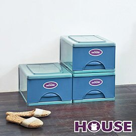 【nicegoods】經典單層收納整理箱S (9公升) 3入組(收納櫃 抽屜櫃 衣櫃 塑膠 整理箱)