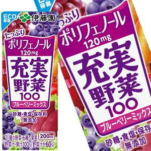 伊藤園充實野菜汁-綜合藍莓 200ml
