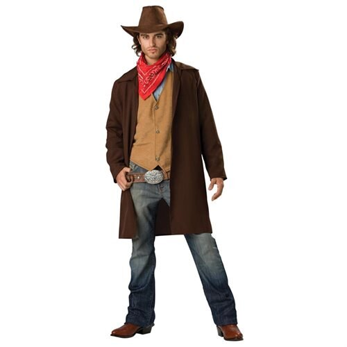 Rawhide Western Cowboy Renegade Duster Designer Costume Adult X-Large 0