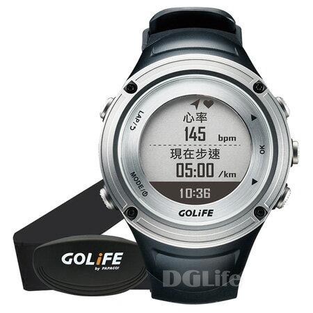 《GOLiFE》GoWatch X-PRO 全方位戶外 GPS 智慧運動錶 銀色