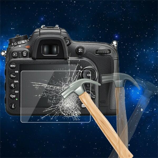 0.5mm相機鋼化玻璃LCD屏幕面板膠片保護膜HDGuard防水蓋適用於NikonD700D7000