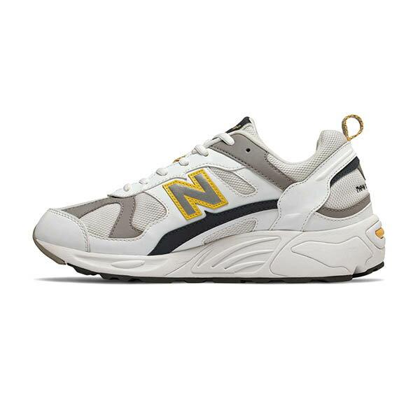 【NEW BALANCE】NB 878 復古鞋 休閒鞋 老爹鞋 經典復刻 中性 白黃 男女鞋 -CM878TCAD 0