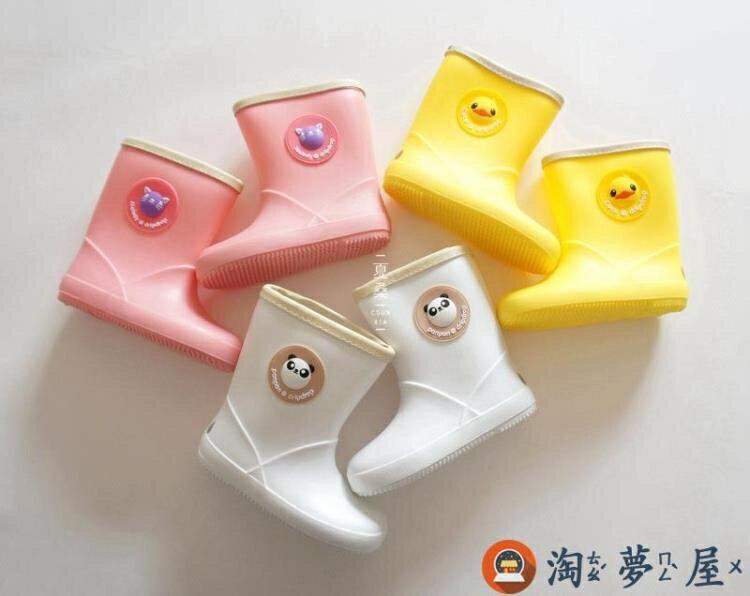 兒童卡通防水雨鞋寶寶中筒加厚小雨靴特惠促銷