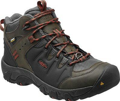 《台南悠活運動家》 KEEN 美國 男高筒保暖登山鞋 1013307