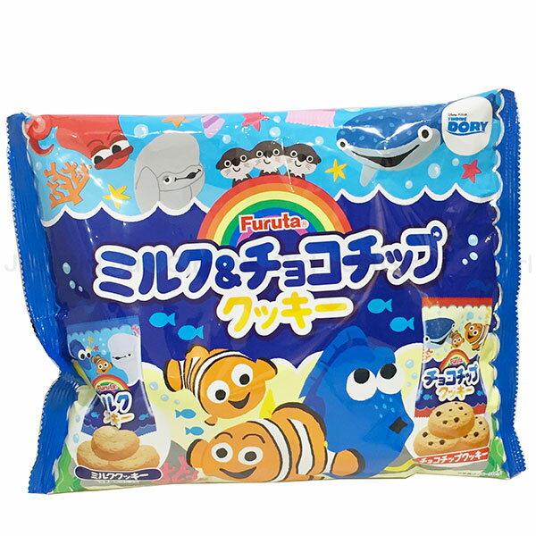 迪士尼 海底總動員 多莉尼莫 古田Furuta 牛奶餅乾 巧克力餅乾 日本製造進口 * JustGirl *