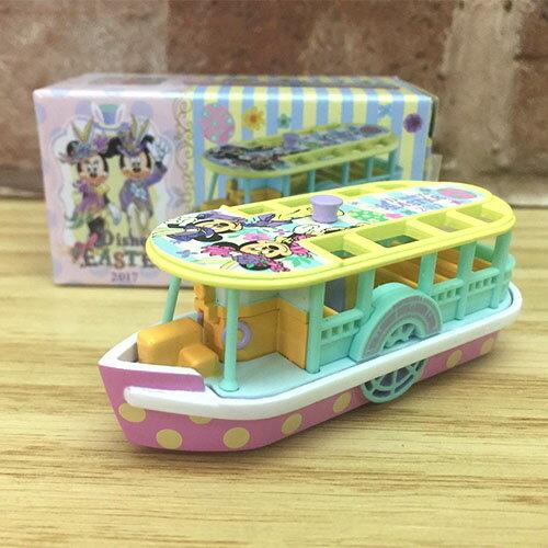 ~真愛 ~17041600018 限定樂園小車~復活節 觀光遊船 迪士尼樂園 帶回 收藏