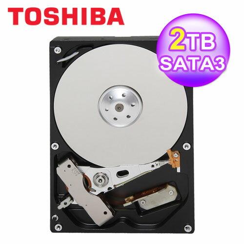 TOSHIBA 2TB/64MB/3.5吋/SATAIII【三井3C】