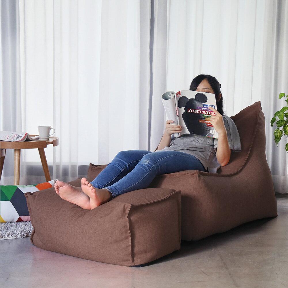 JASON賈森簡約風舒適懶骨頭沙發(L型+凳) / H&D東稻家居 / 好窩生活節 3