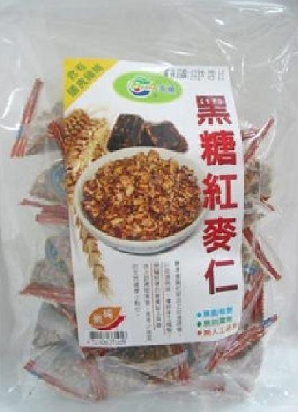 琦順~黑糖紅麥仁/黑糖香酥紅麥仁/220公克/包