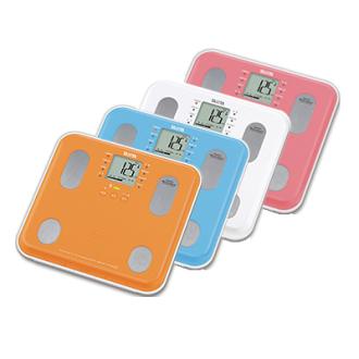 【日本TANITA】九合一體組成計BC565 共4色(粉紅/白/藍/橘),贈品:時尚扣環保溫保冷袋x1