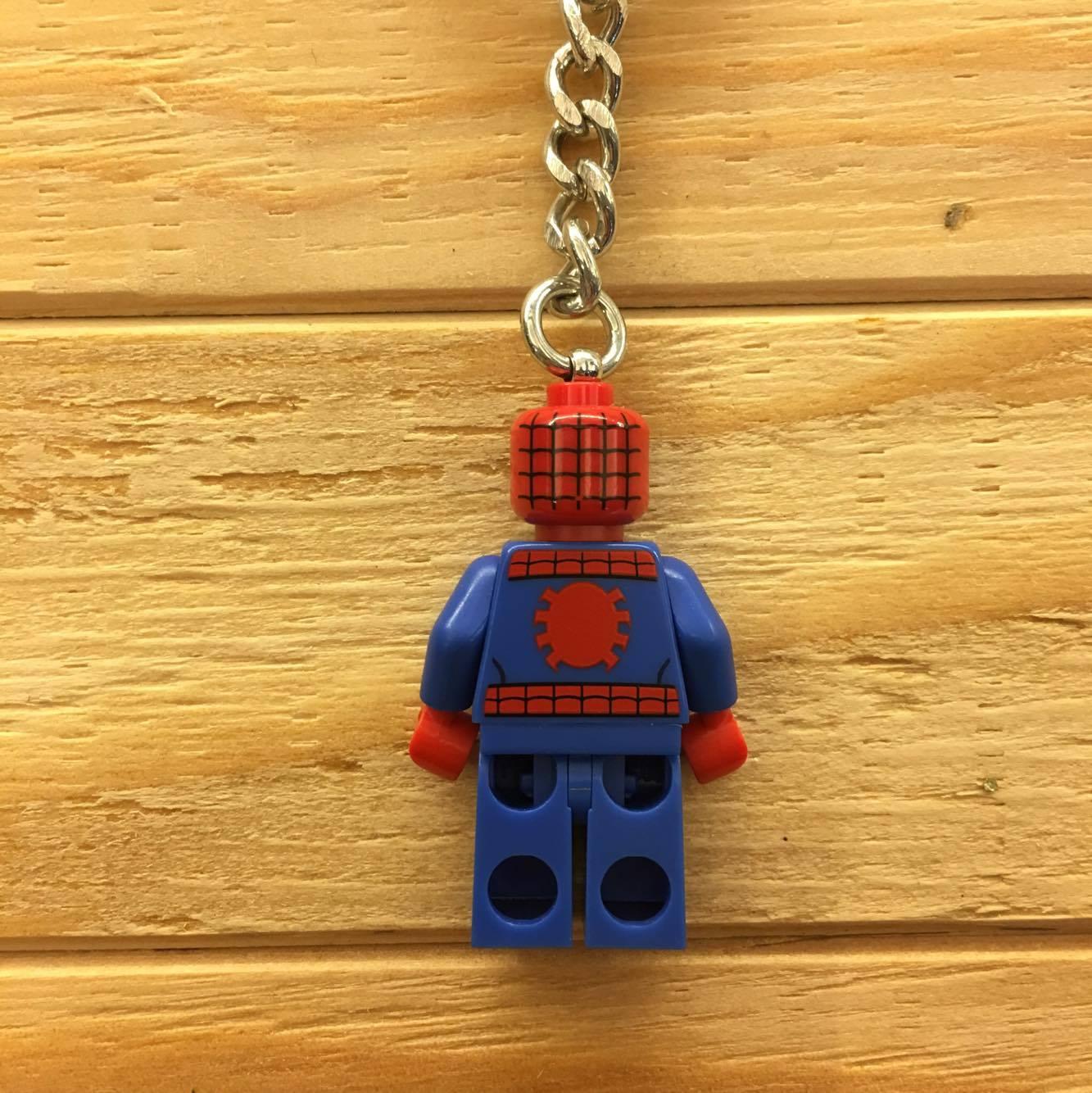 BEETLE LEGO SUPER HEROES SPIDER MAN 蜘蛛人 彼得 班傑明 樂高 積木 鑰匙圈 玩具 2