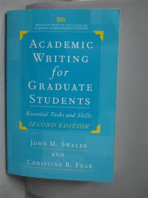 ~書寶 書T3/語言學習_WGN~Academic Writing for Graduat