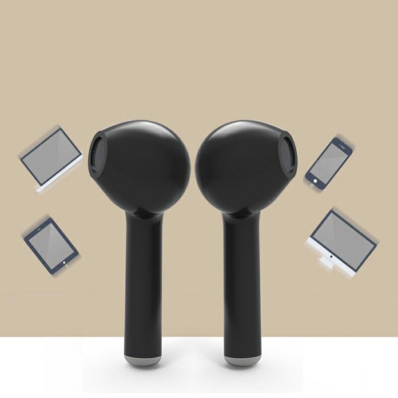 1 Pair Bluetooth 4.1 Wireless Bluetooth Headset In-ear Stereo Ear Buds Headset Earphone 3