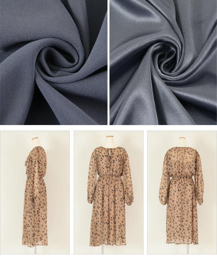 日本Titivate  /  氣質收腰飄逸雪紡連身洋裝  /  avxn0556  /  日本必買 日本樂天直送(4990) /  件件含運 6