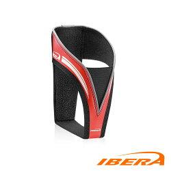 IBERA 防刮傷絨布水壺架IB-BC20 / 城市綠洲(台灣製造、輕量化、自行車、腳踏車、反光飾條)