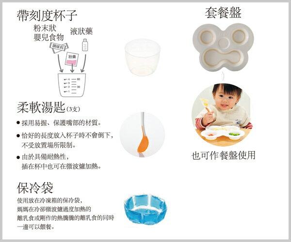 Richell利其爾 - ND 離乳食初期餐具套組 8