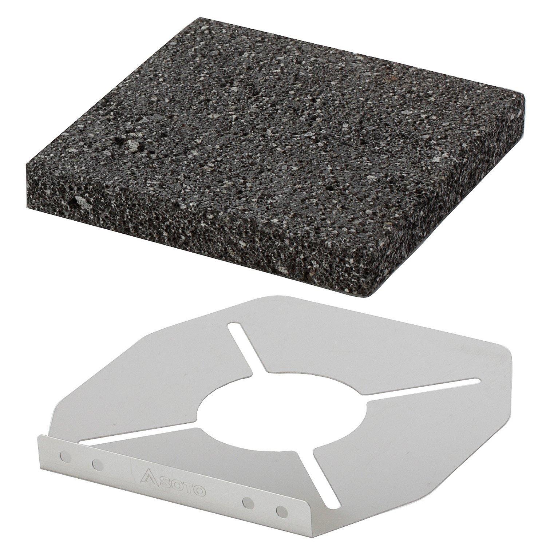 迷你蜘蛛爐 ST-310 +岩燒烤盤 ST-3102 1