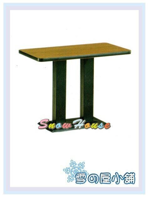 ╭☆雪之屋居家生活館☆╯AA832-34/37/40 西餐桌718(烤黑腳/黑邊)/置物桌/餐桌/三色可選