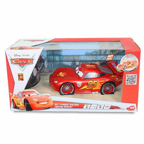【Cars 汽車總動員】1:24 電鍍版遙控麥坤 DK01799