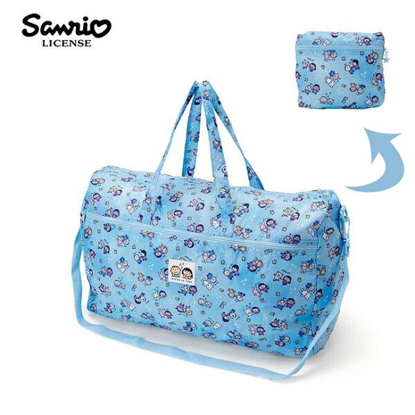 【日本正版】大寶好朋友折疊行李袋旅行袋肩背袋超大容量防潑水三麗鷗Sanrio-695173