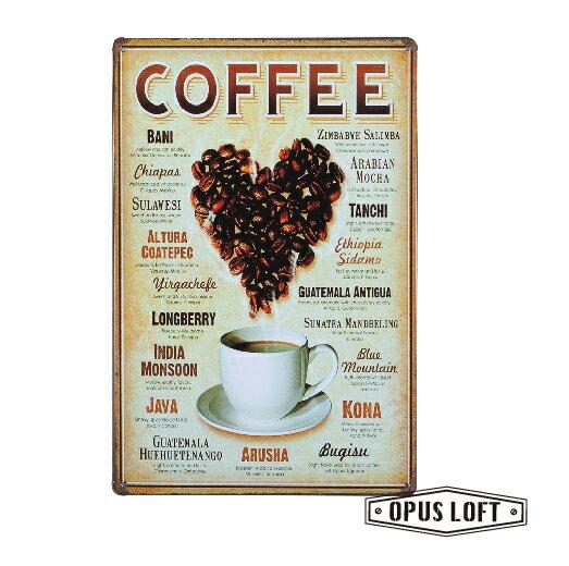 COFFEE復古鐵牌TP-1041