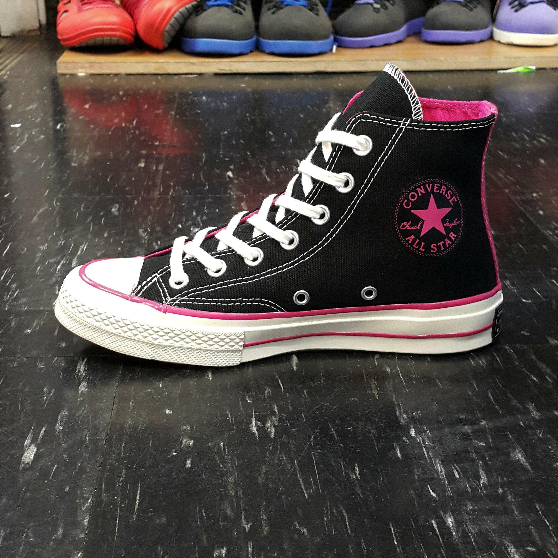 Converse Chuck Taylor AllStar 1970s 高筒 黑色 桃粉色 復刻 三星標 149445C
