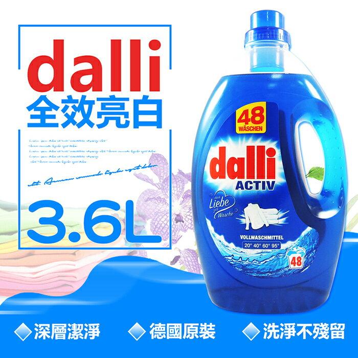 【德國Dalli】原裝進口 全效洗衣精PLUS (3.6L/瓶)