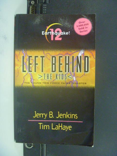 【書寶二手書T5/原文小說_OQL】Earthquake_Jenkins, Jerry B