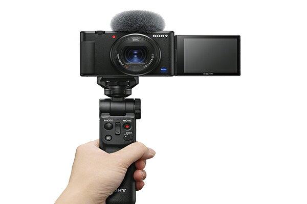 手持握把組+SONY ECM-XYST1M組合 SONY Digital camera ZV-1 ZV1公司貨 再送128G記憶卡+專用座充+專用電池+原廠皮套+螢幕保護貼+讀卡機+清潔組+小腳架【2