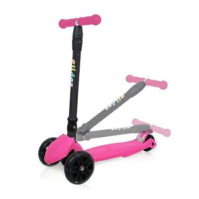 Slider 兒童三輪滑板車XL1-螢光粉