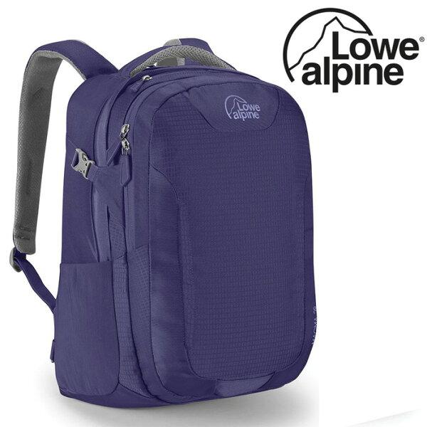 【LoweAlpine英國】MagmaND15吋電腦背包多功能背包旅行後背包女款靛藍色/FDP-48【容量27L】