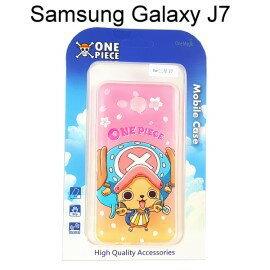 海賊王透明軟殼 [漸層] 喬巴 Samsung J700F Galaxy J7 航海王保護殼【正版授權】